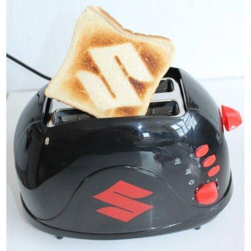 NUOVO Originale Suzuki Tostapane Burns S nel tuo Toast 990F0-mtast Nero Rosso
