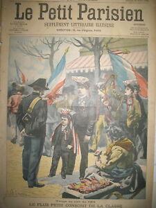 AIGREMONT-FRANCOIS-BIOUIN-PLUS-PETIT-CONSCRIT-CLASSE-1901-LE-PETIT-PARISIEN-1901