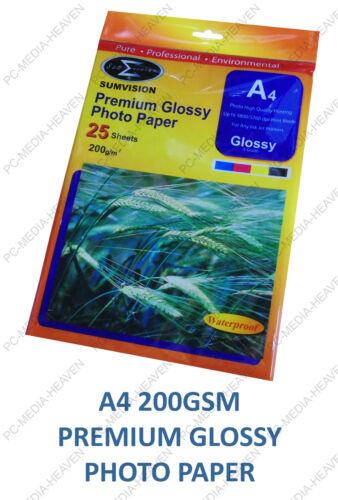 7x5 A4 A3 Gloss Glossy Photo Paper 135gsm 180gsm 200gsm 210gsm 230gsm 260gsm