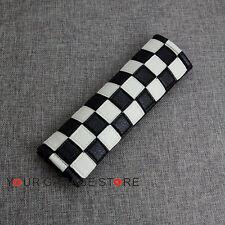 Checkered Sitz Sicherheitsgurt Schulter Kissen Pad Cover Fit MINI COOPER CLUBMAN