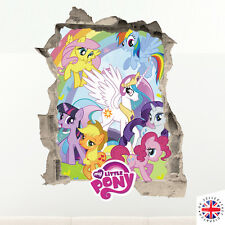 3D MY LITTLE PONY Wall Sticker Vinyl Art Home Bedroom Poster Kids Girls Cartoon