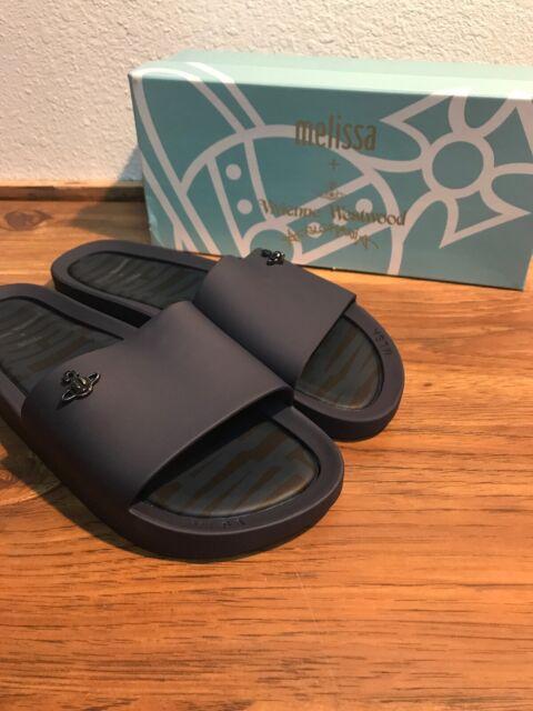 VW Beach Slides Navy Matte Orb Sandals