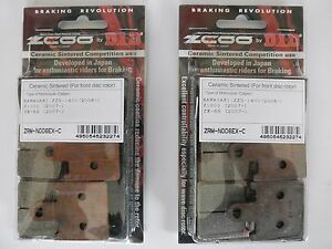 ZCOO 2 COPPIE PASTIGLIE FRENO ANTERIORE PER YAMAHA YZF R6 600 2009 2010 2011
