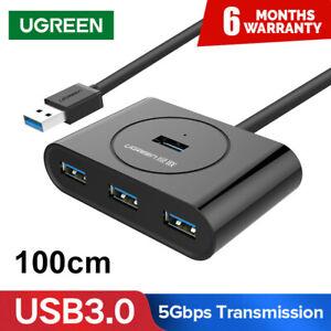 UGREEN-USB-3-0-HUB-4-Ports-USB-Hub-Splitter-For-Macbook-Laptop-PC-Computer-HDD