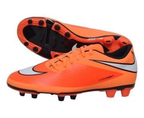 37f71c17bd3a Nike Men s Hypervenom Phade FG Soccer Cleats Shoes Sports Atomic Orange  Size 8.5 for sale online