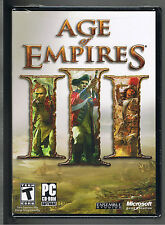 Age of Empires III(PC,2005)-European VersionWIN32-BRAND NEW SEALED!MEGA BATTLES!