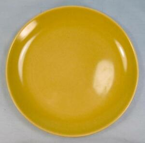Casual-Avocado-Yellow-Salad-Plate-Iroquois-Russel-Wright-USA-Q1-Chartreuse-O2
