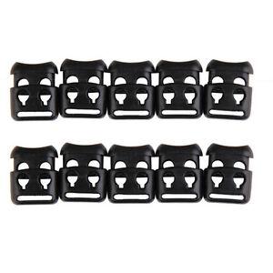 10-PCS-Shoelace-Buckle-Non-slip-Survival-Stopper-Rope-Clip-Clamp-Cord-Lock-0hus