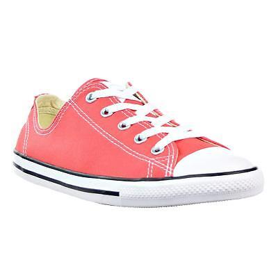 Converse Chuck Taylor All Star Dainty Ox Ultra RedBlackWhite (WS) (555987C) | eBay
