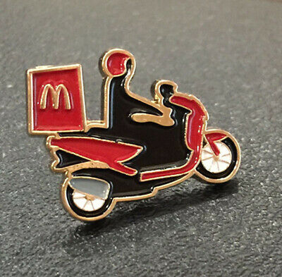 McDonald/'s McDelivery Raider Motercycle Pin Ornament Souvenir