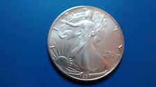 MONEDA DE PLATA PURA  0.999/1000 EEUU Liberty Eagle  AÑO 1991 1 ONZA  EN CAPSULA