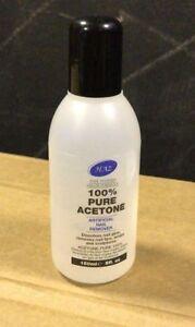 HAZ-100-Pure-Acetone-Nail-Polish-Remover-150ml-Glue-Tips-Wraps-Sculptures