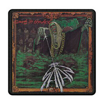 Authentic SATAN Band Court In The Act Album Cover Logo Embroidered Patch NEW