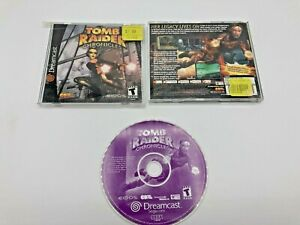 Sega-Dreamcast-Tested-Complete-CIB-Tomb-Raider-Chronicles-Ships-Fast