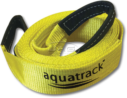 AQUATRACK 4.8M 9T RECOVERY TOW STRAP 9000kg 4x4 4WD Snatch Tree Trunk Protector