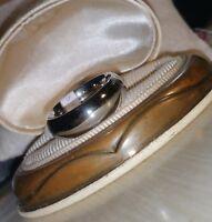 Mens Scott Kay Artiste Brute Cobalt Bioblu 27 Wedding Shiny Smooth Band Ring$295