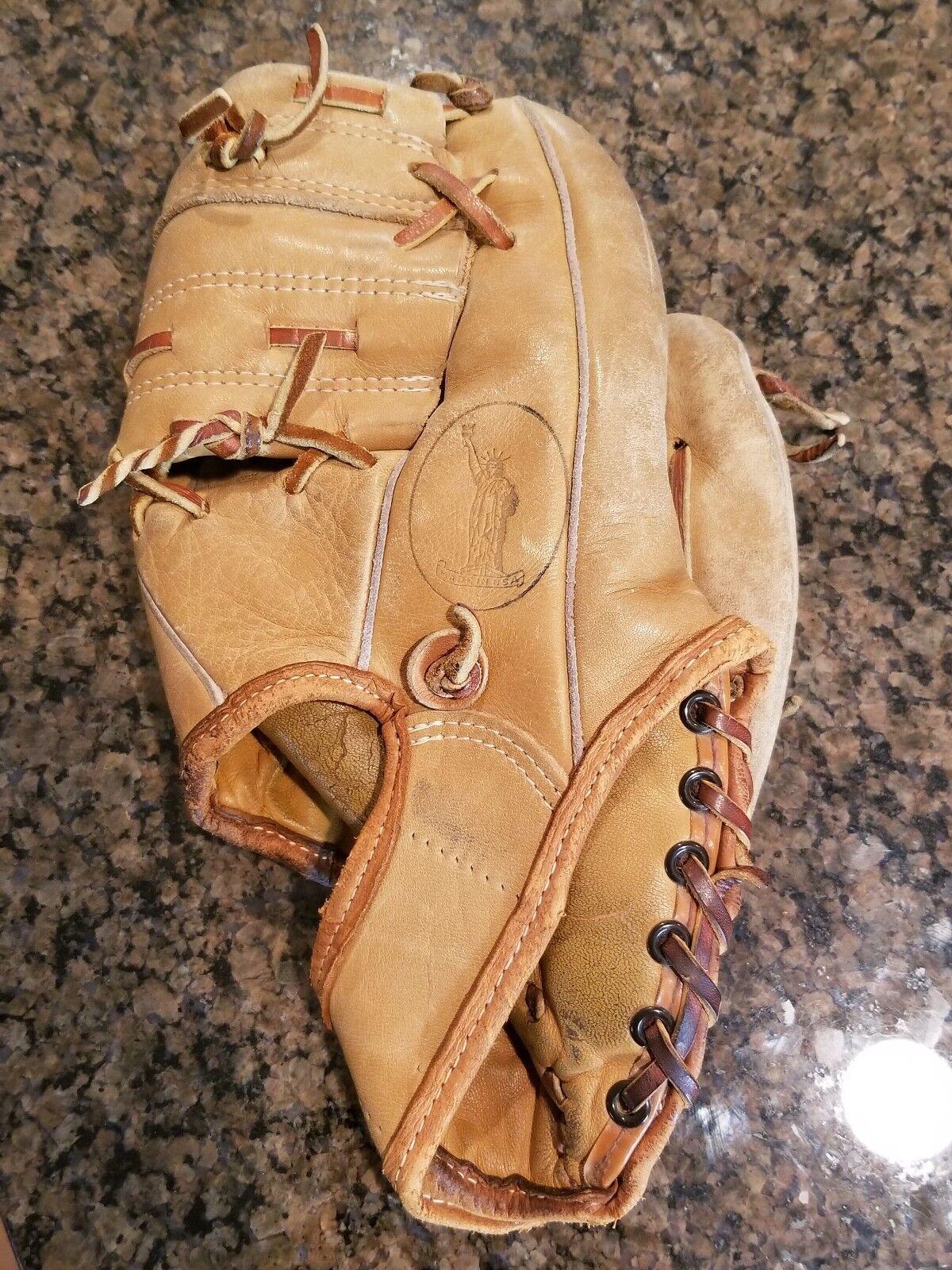 Vintage Jc Higgins Bob Clemente Lanzador De Mano Derecha Guante de béisbol