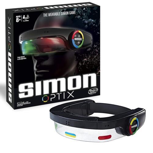 Simon Optix Electronic Touch jeu gratuit Portable Casque light and sound Gadget