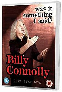 Billy-Connolly-Live-Was-It-Something-I-Said-DVD-2007-Used-Good-DVD