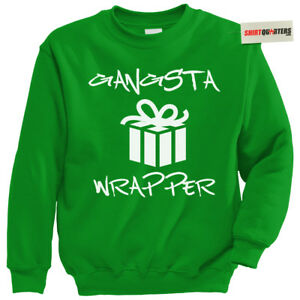 Gangster Wrapper Tupac Dmx Ice T Thug Life Christmas Tacky Party Elf