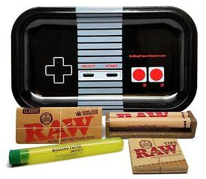 Bundle 5 Items Raw King Size Supreme Rpd Rolling Tray