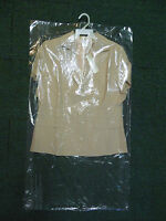 25 Dry Cleaner Poly Garment Bags 21 X 4 X 38 Plastic Bags Free Shipping