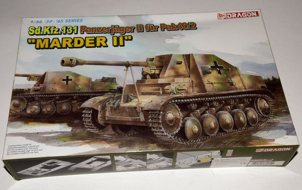 Dragon 1 35 ◆ 6262 Sd.Kfz.131  Marder II  model kit