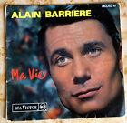 Disque 45 T. Alain BARRIERE 86.053 - Ma vie - 1964