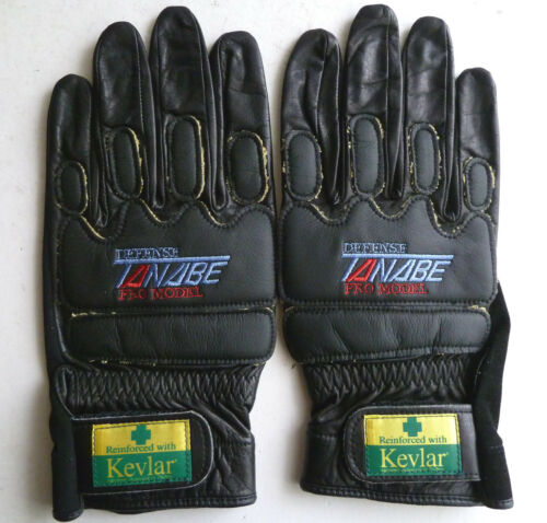 Tanabe track racing gloves A2 Keirin Pro Defense 2 size 25 black NJS M
