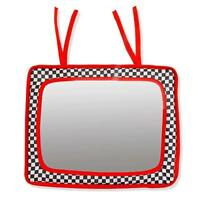 Baby Crib Mirror - Black, White & Red- Infant-stim, New, Free Shipping on sale