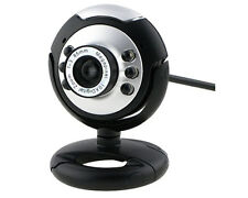 20 MP usb webcam with integrated microphone 6 LED night vision