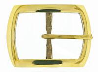 Solid Brass Belt Buckle