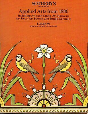 Decorative Arts From 1880 Arts Crafts Art Nouveau Art Deco Auction Catalogue Ebay