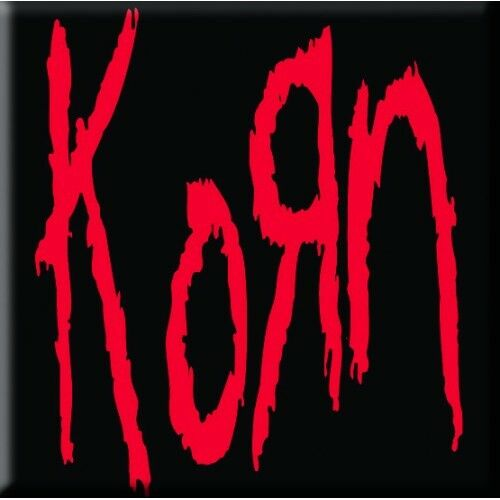 Korn Single Cork Coaster Drinks Red Black Band Music Official Merchandise