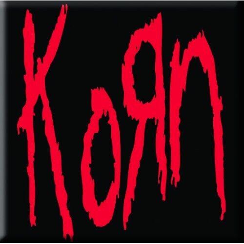 Korn Single Cork Coaster Drinks Red Black Band Music Official Merchandise