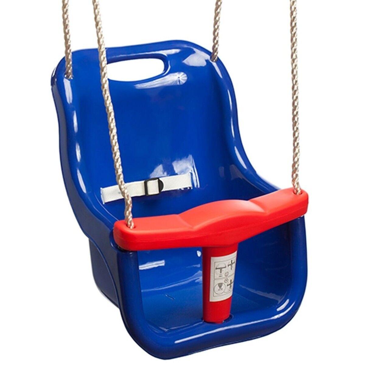 Svinge Slide klättring Beby Svinge Seat 365x420x250mm,25Kg Capacity blå  röd AUS Brand