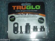 TRUGLO XTREME-LITE BOW SIGHT UNIVERSAL RHEOSTAT LIGHT tru glo