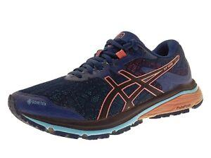 Asics GT-1000 8 G-TX Damen Schuhe Sneaker Laufschuhe Freizeitschuh Gr 39 Blau
