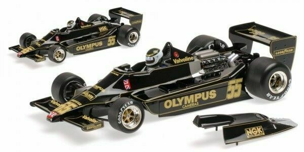 Minichamps F1 Lotus Ford 79 Jean-Pierre Jarier 1 18 Canadian GP 1978
