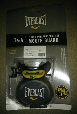 Authentic EVERLAST MOUTHGUARD Pro Mouth Guard MMA Boxing Martial Arts One Size