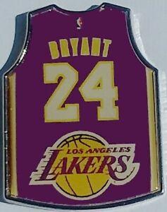 Los Angeles Lakers Kobe Bryant Jersey 24 púrpura Aminco Pin   eBay