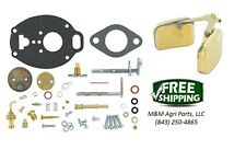 Complete Carburetor kit & Float John Deere M MC MT 40 320 330 Tractor TSX530