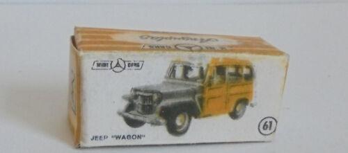 61 JEEP vagone REPRO BOX ANGUPLAS n