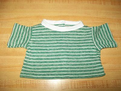 """BLACK /& WHITE STRIPES LONG SLEEVED KNIT TEE SHIRT for 16-17/"""" CPK Cabbage Patch"""