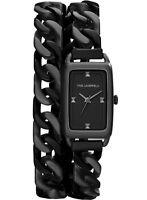 Karl Lagerfeld Kl1807 Kourbe Double Wrap Bracelet Ladies Watch - 2 Yrs Warranty
