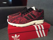 14c0ac6bc adidas ZX Flux City Pack Moscow Red Mens Size 9 M21775 Limited Edition!