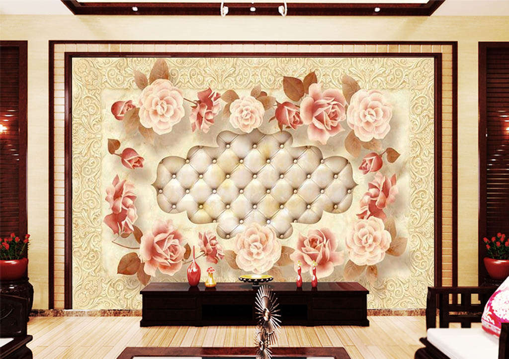 The Beautiful Lace 3D Full Wall Mural Photo Wallpaper Printing Home Kids Decor