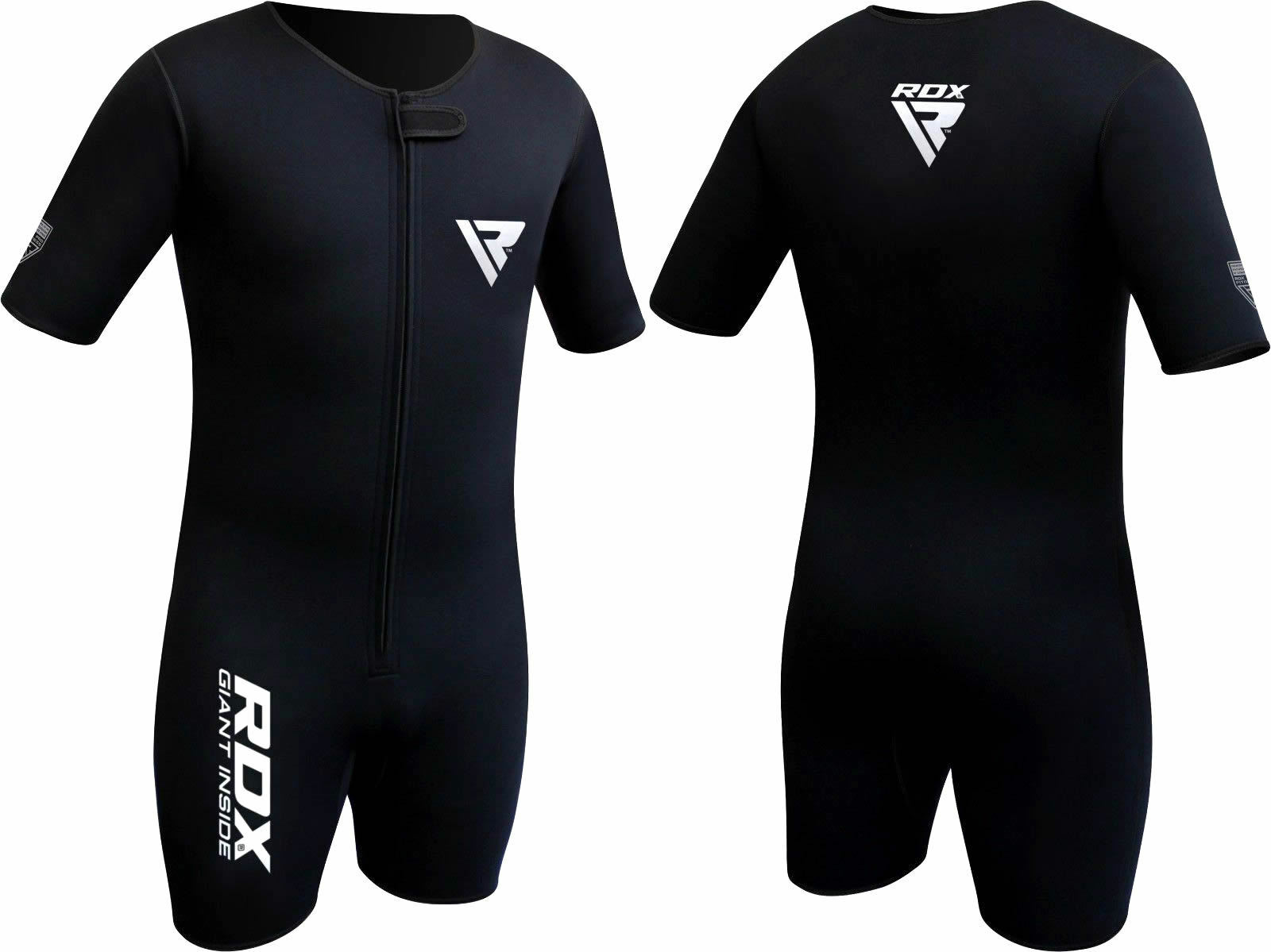 72a54018c RDX MMA Neoprene Sweat Sauna Suit Shirt Rash Weight Loss Slimmimg ...