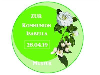 20 und 28cm rund Tortenaufleger Kommunion//Firmung//Konfirm Tortenbild Fototorte