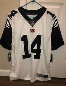 Details about ANDY DALTON Sewn BENGALS Nike COLOR RUSH Throwback Jersey Sz L 819047-101